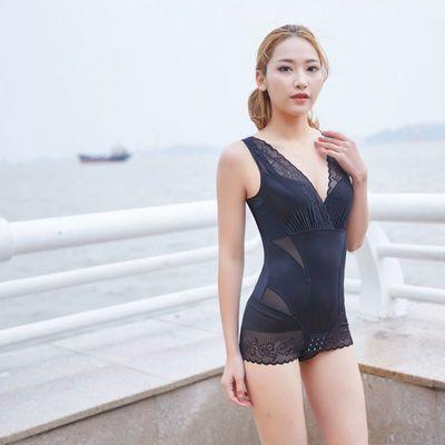 正品美人塑身计防伪可查】瘦身连体塑身衣产后美体减肥束身内衣女