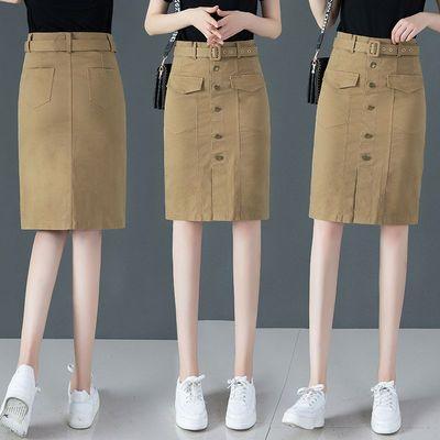 2020早春不对称休闲短裙潮新款时尚高腰显瘦包臀半身裙女春秋裙子