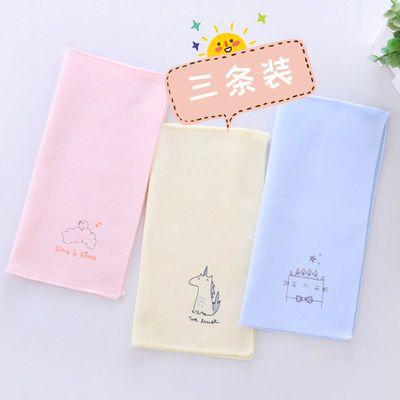 纯棉 宝宝擦奶巾 卡通 儿童口水巾 小孩喂奶巾 小手帕