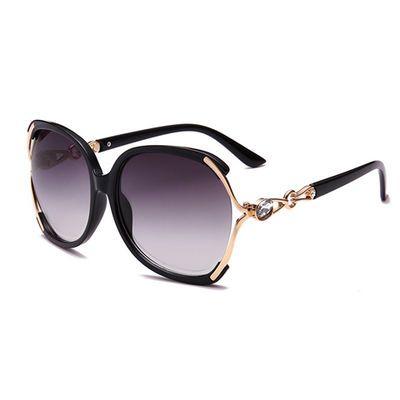 新款太阳镜女时尚大框墨镜圆脸防紫外线眼镜复古百搭修饰太阳眼镜
