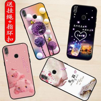 华为荣耀8X手机壳JSN-AL00a保护壳荣耀8防摔荣耀V8卡通彩绘保护套