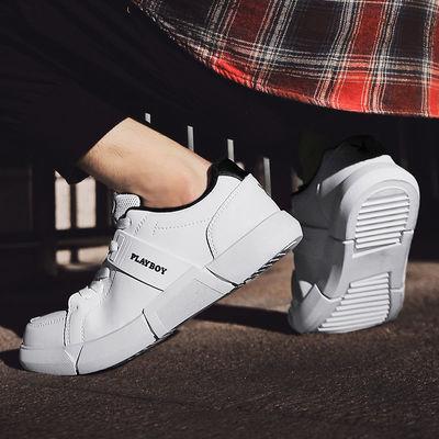 2020年夏季新款小白鞋子男运动鞋休闲透气四季百搭小白鞋