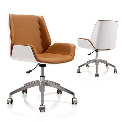 欢乐颂办公椅椅子职员椅家用皮椅电脑椅人体工学电脑椅培训室椅子