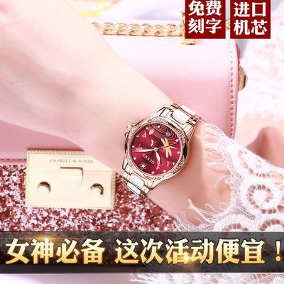 新款正品瑞士欧利时手表女士机械表全自动时尚气质名牌夜光防水
