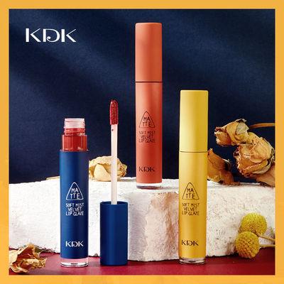 KDK新品复古限定哑光丝绒慕斯唇釉口红砖红色显白 SPEAK UP红梨色