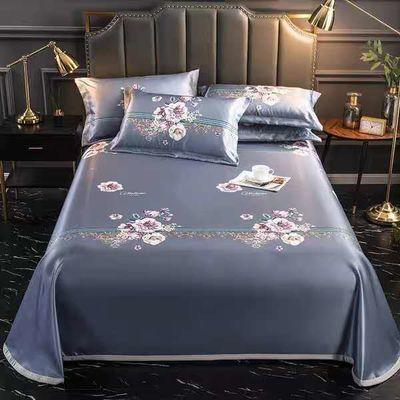 可水洗夏季冰丝凉席可折叠床单单件软席子夏天单双人床空调席子