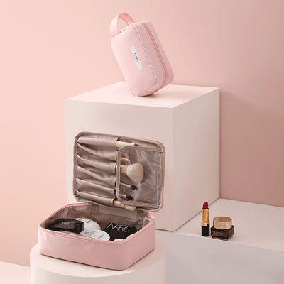 ins网红化妆包超火女小号便携简约大容量化妆袋化妆品收纳盒包