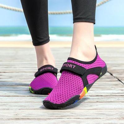 情侣户外钓鱼游泳涉水溯溪鞋五指鞋防滑速干男女沙滩鞋健身鞋子