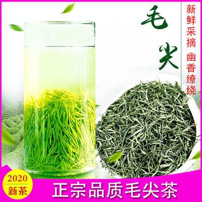 绿茶2020新茶信阳毛尖茶叶特级嫩芽浓香型罐装茶