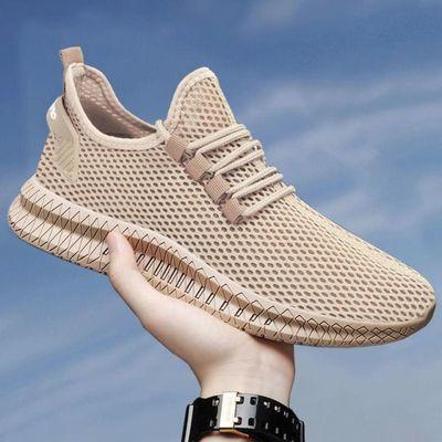 休闲鞋泡沫底鞋子加厚防滑男软底运动鞋男款高中生跑步气垫鞋轻便