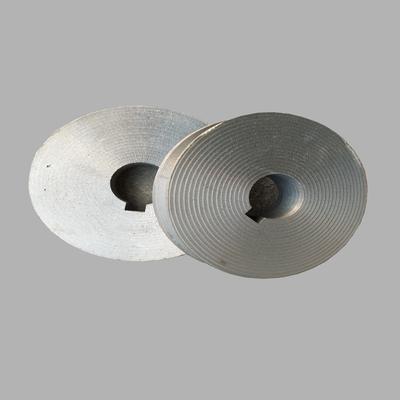 A型B型三角皮带轮电机皮带盘单槽双槽铸铁马达传动轮60-120mm