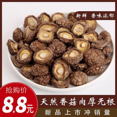 东北特产香菇干货山货椴木无根野生香菇干蘑菇 干香菇金钱菇包邮