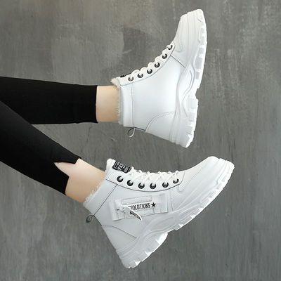 【亏本清仓】冬季棉鞋女鞋子保暖加绒女鞋百搭韩版潮鞋学生小白鞋