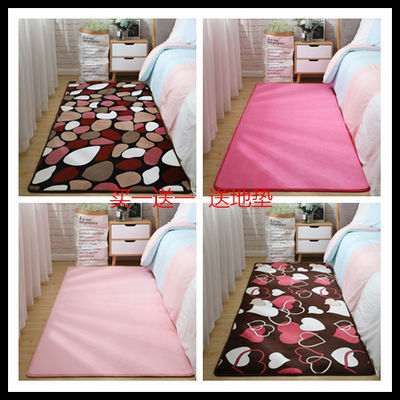 加厚珊瑚绒地毯客厅茶几地毯卧室满铺可爱床边毯榻榻米地垫可定制