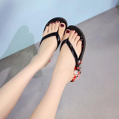 夏季新款夹脚人字拖女平跟平底凉拖鞋防滑休闲女士外穿拖鞋女夏季