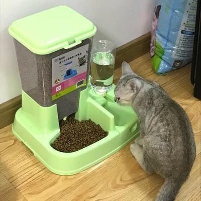 猫咪用品自动喂食器猫碗猫自助喂食器宠物自动喂食器狗碗狗狗用品
