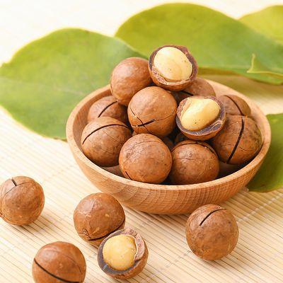 【热卖】憨豆熊 夏威夷果120g*2袋奶油味坚果零食小吃送开口器共2