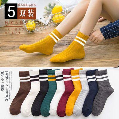 【超值10双装】袜子女冬季保暖中筒袜运动袜可爱袜子韩版潮流短袜