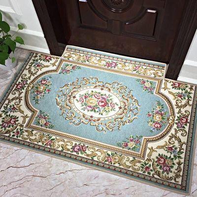 欧式进门地垫入户门垫玄关客厅卧室厨房家用防滑垫可裁剪定制尺寸