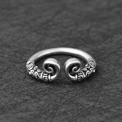 买一送三 戒指男韩版学生 社会个性霸气单身潮男饰品戒指尾戒指环