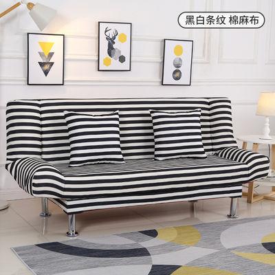 沙发床两用可折叠客厅小户型单人双人三人简易多功能懒人布艺沙发