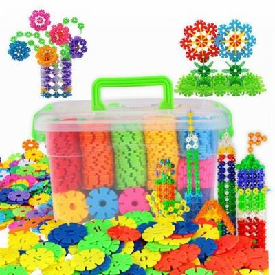 雪花片加厚大号早教益智玩具儿童男女孩3-6-8岁积木拼插拼装legao