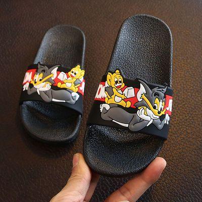 儿童拖鞋夏季男童女童蜘蛛侠凉拖可爱中大童室内洗澡防滑家用专用