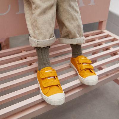 2020春季新款儿童帆布鞋女童童鞋韩版百搭宝宝小白鞋男童板鞋小孩