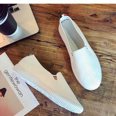 【新品特惠】牛筋底春季老北京布鞋女帆布鞋休闲懒人学生平底板鞋
