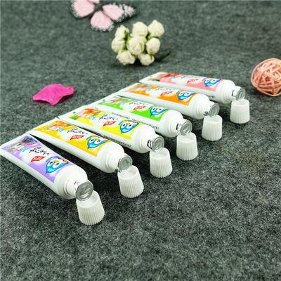 45g小叮当儿童水果味牙膏安全无氟牙膏苹果草莓水蜜桃蜜瓜换牙期