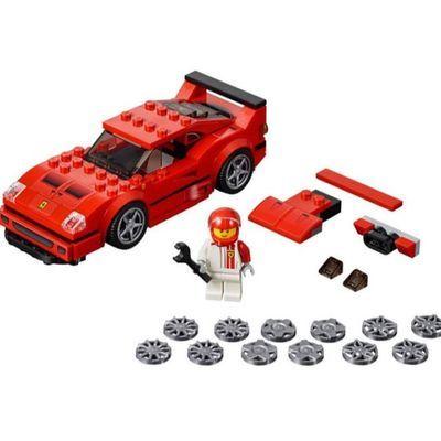 【海淘现货】乐高(LEGO)积木玩具 75890 法拉利F40 赛车模型礼物