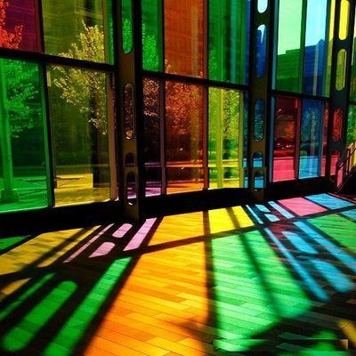 彩色玻璃贴膜窗户玻璃贴纸透明热装饰透光红黄蓝绿黑茶白色七彩膜