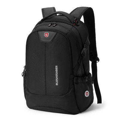 瑞士军刀双肩包男背包商务休闲旅行大容量初高中书包电脑包男潮流