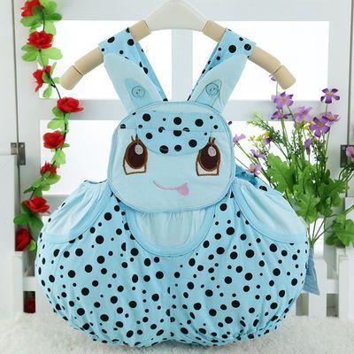 婴儿童连体衣纯棉宝宝三角哈衣可爱卡通爬服动物造型衣服夏季薄款