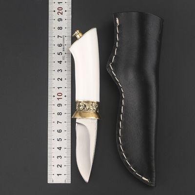 户外战术直刀防身开锋野外生存短刀多功能高硬度刀子开封军工刀锋