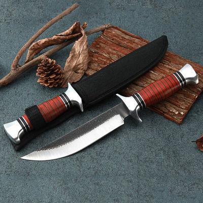 户外战术直刀防身开锋野外生存短刀多功能高硬度刀子开封军工刀北