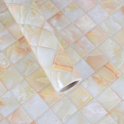 大理石厨房防油贴纸壁纸自粘墙纸贴画防水厨房灶台桌面墙贴纸装饰