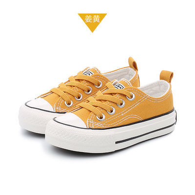 芭芭鸭春季新款童鞋儿童帆布鞋男童女童鞋子布鞋球鞋板鞋小白鞋潮