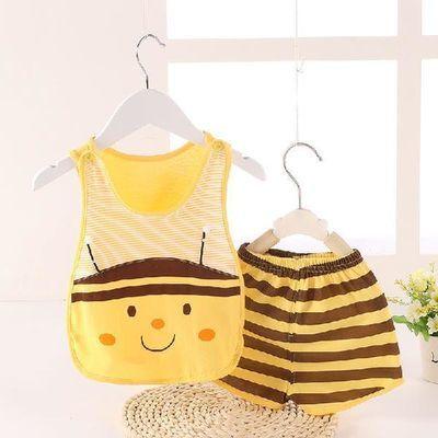 婴儿动物造型连体衣宝宝夏季衣服纯棉0-12月包屁衣新生儿哈衣爬服