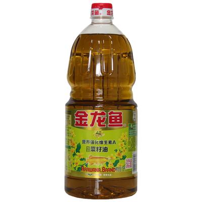 【新品】1.8L金龙鱼AE纯香菜籽油维A营养强化食用油小瓶正宗菜油