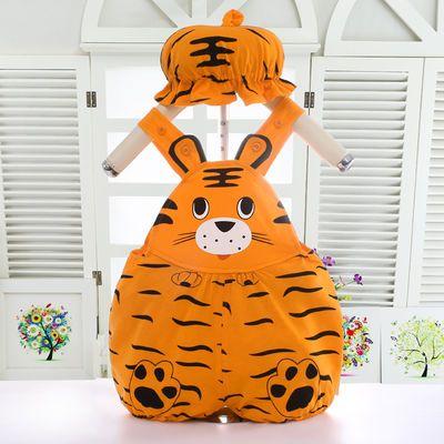 新生儿连体衣纯棉婴儿哈衣宝宝爬服拍照可爱西瓜柿子老虎造型衣服