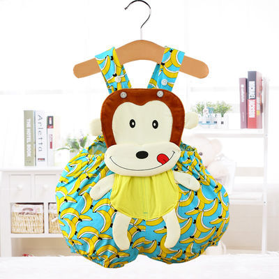 婴儿童连体衣宝宝三角爬服拍照哈衣可爱卡通动物造型衣服夏季薄款