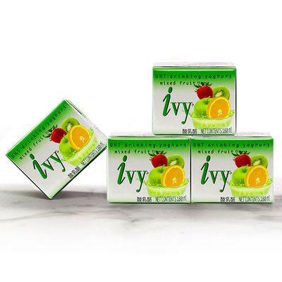 网红零食泰国原装进口IVY乳酸饮品多口味超赞