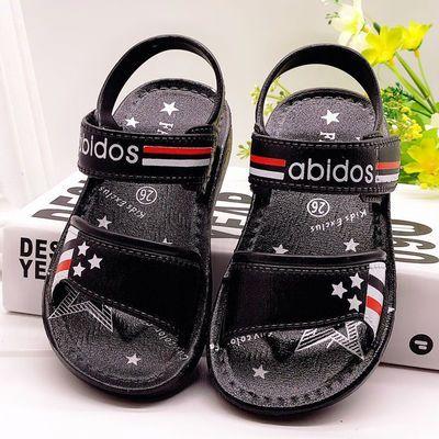 夏季1-10岁小中大儿童男孩凉鞋新款学生沙滩鞋防滑软底耐磨凉拖鞋