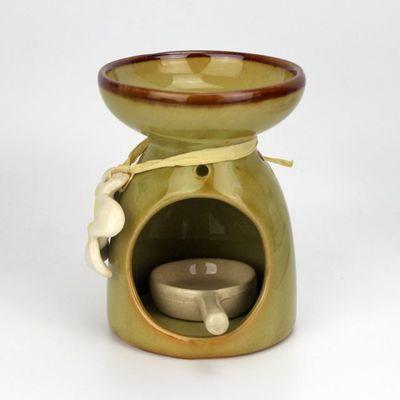 带蜡烛托陶瓷香薰炉熏香炉用蜡烛香薰灯精油炉瑜伽居室SPA馆酒店