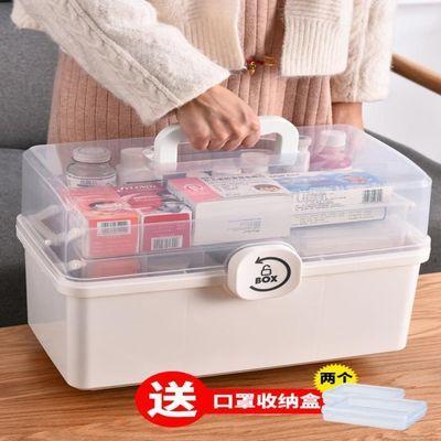 药箱家庭装家用大容量多层医药箱全套应急医护医疗收纳药品小药盒