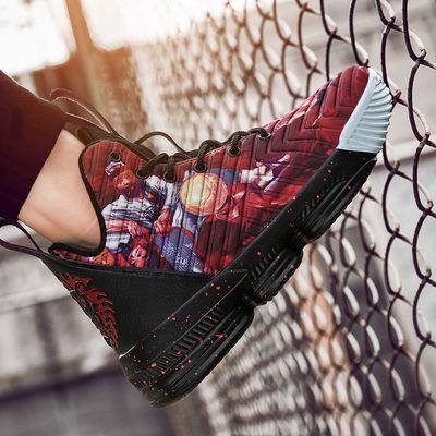 男鞋2020新款夏季秋季实战篮球鞋耐高帮运动跑步鞋户外运动鞋