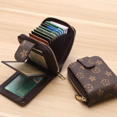 卡包驾驶证皮套男士驾照本女式多卡位风琴信用卡片包钱包卡包一体
