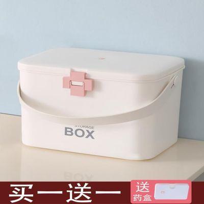 特大号药箱医药箱家用家庭装全套大容量多层药箱药品收纳盒急救箱