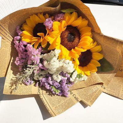 爆款鲜花真花向日葵大花束毕业生日礼物云南昆明基地直发速递包邮
